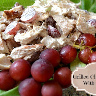 Grilled Chicken and Grapes Salad