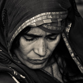 Inner Mind  by Sankha Ghose - People Portraits of Women