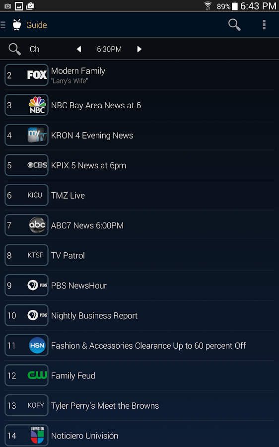 TiVo Screenshot 2