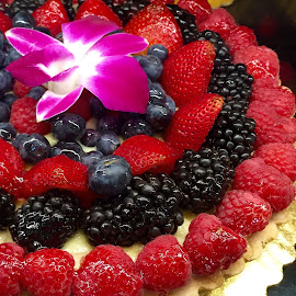 Four Berries Delight by Lope Piamonte Jr - Food & Drink Cooking & Baking