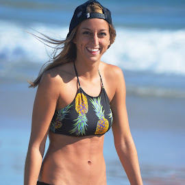 Day at the beach by Dee Schindler VanBilliard - People Street & Candids ( sunshine, bathing suit, beach, bathing suitwaves,  )