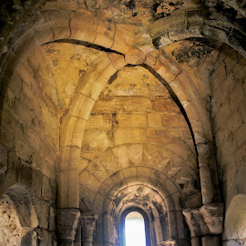 built to last by Janet Taffinder - Buildings & Architecture Architectural Detail ( ancient, arches, stone, windows, light )