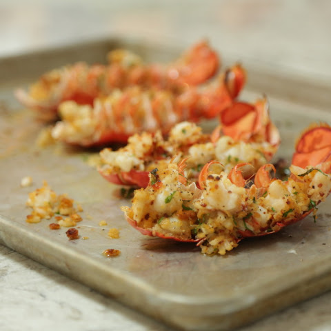 Baked Stuffed Maine Lobster Tails