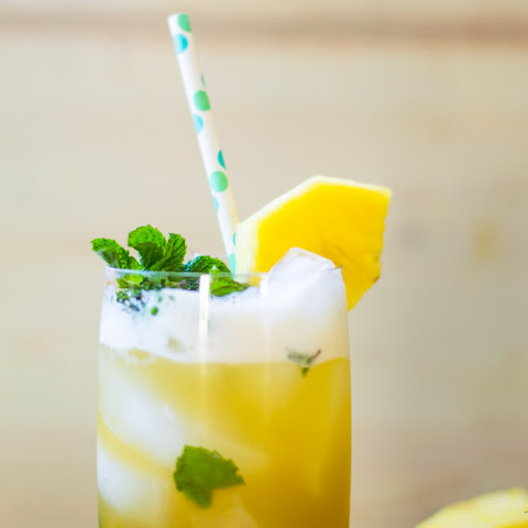 Pineapple Ginger Mojito