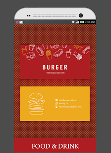 LENSCARD PRO - Business card screenshot for Android