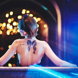 :: gatsby :: by Andreas Yunis - People Fashion ( sony, model, lighting, blue, available, beauty, flare )