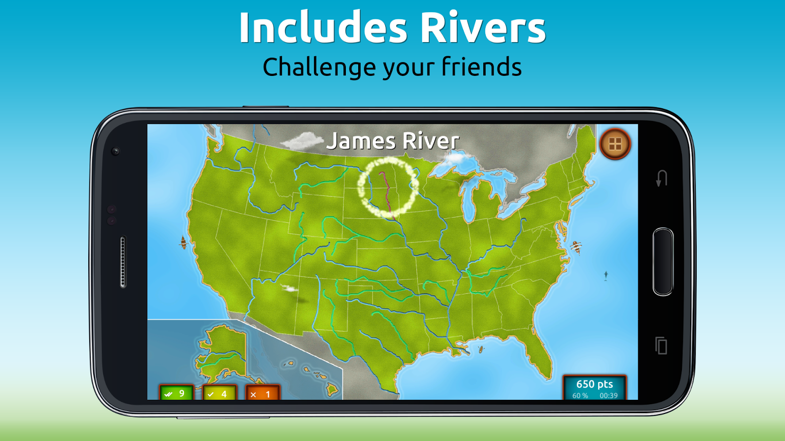 GeoExpert - USA Geography Screenshot 3