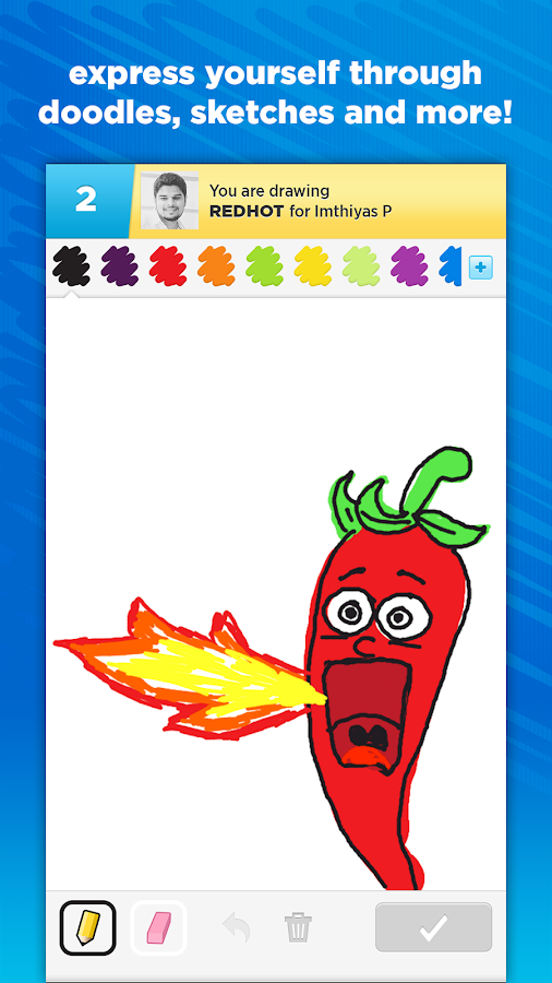 Draw Something Screenshot 4