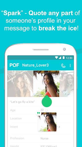 POF Free Dating App screenshot 4