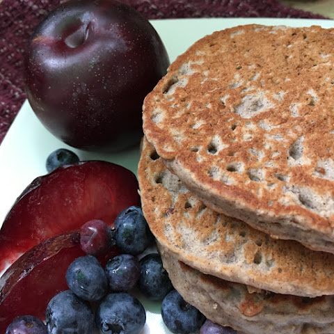 Purple Power Plum Pancakes