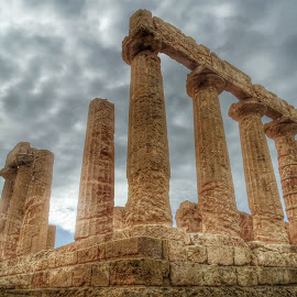Temple of Juno,Valley of the Temples by Patrizia Emiliani - Buildings & Architecture Public & Historical ( valley of temples, agrigento, temple of juno, hdr, italy, sicily,  )