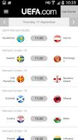 Screenshot of UEFA.com