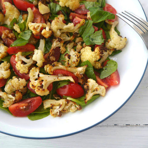 Cauliflower, Tomato and Basil Salad