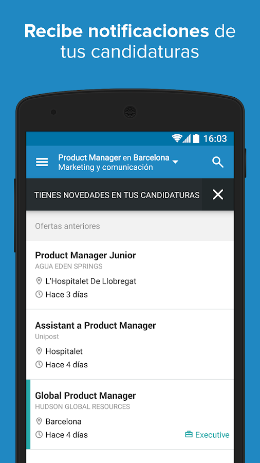 InfoJobs - Job Search Screenshot 5