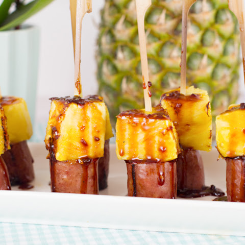 Sausage & Pineapple Appetizer Kabobs
