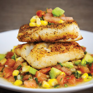 Sauteed Snapper with Fresh Avocado Salsa