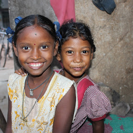 Happiness is a Choice by George Joseph - Babies & Children Children Candids ( care, poor, children, happiness, pavement )