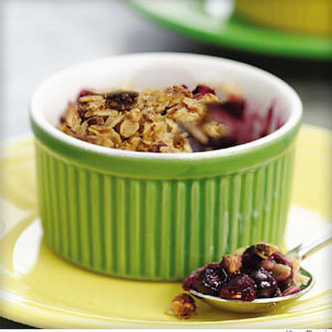 Old-Fashioned Blueberry Fruit Crumble