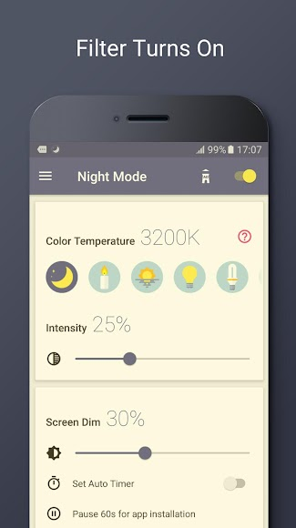 Blue Light Filter - Night Mode 1.2.1