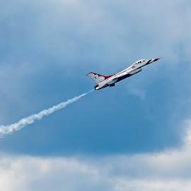 Wings Over The Lake by Debora Garella - Transportation Airplanes