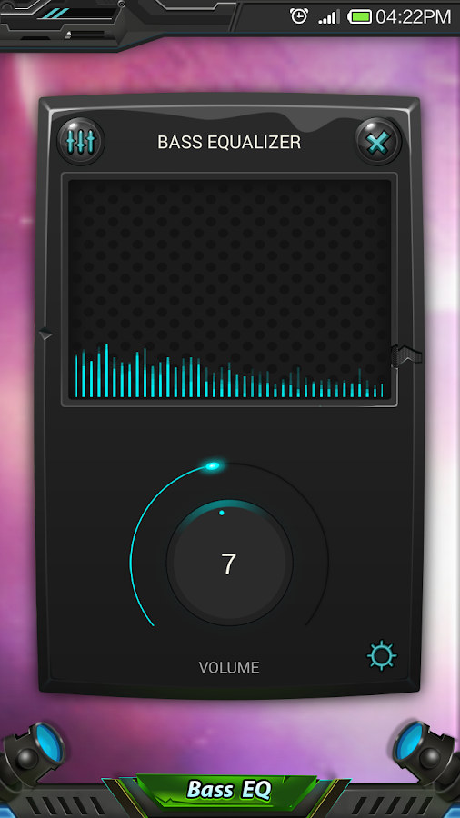 Equalizer & Bass Booster Pro Screenshot 1