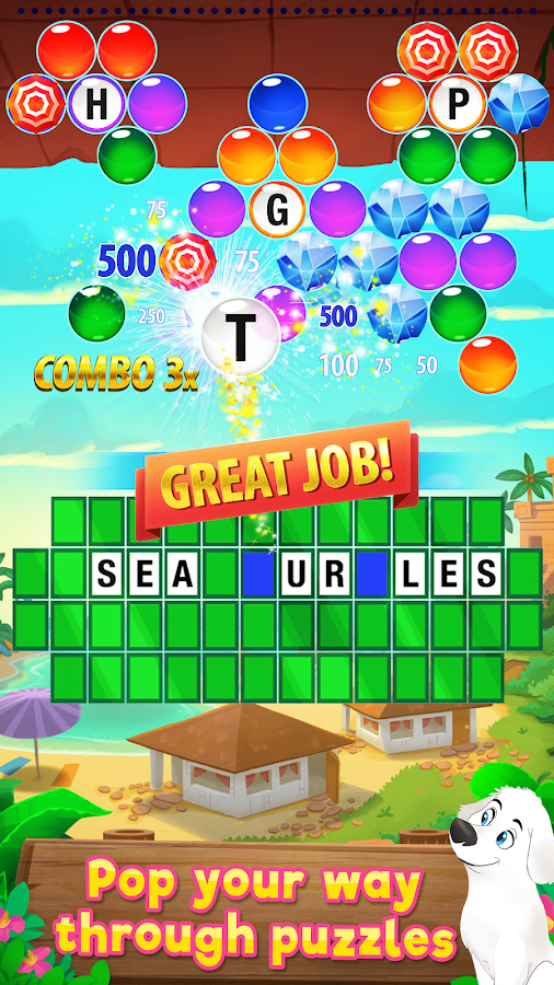 Wheel of Fortune PUZZLE POP Screenshot 0
