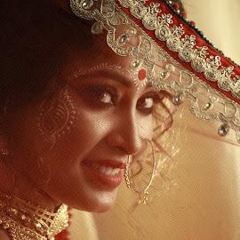 Screened Grandeur by Ritwik Ray - Wedding Bride ( wedding )
