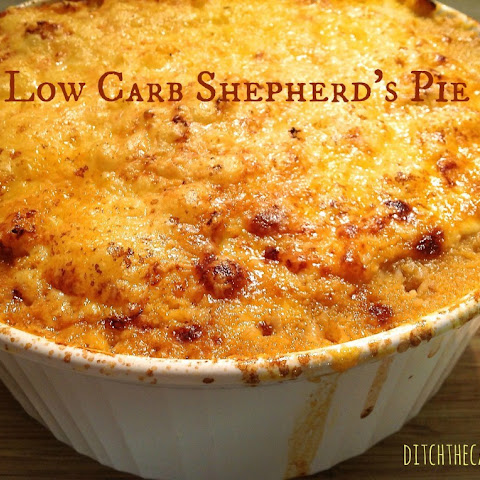 Low Carb Shepherd's Pie - with Cauliflower Mash