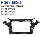 Santa Fe 2013 Radiator Support, Water Tank Frame, Panel (64101-2W000 64101-2W010 64101-2W100)