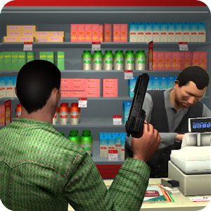 Supermarket Robbery Crime Mad City Russian Mafia For PC (Windows & MAC)