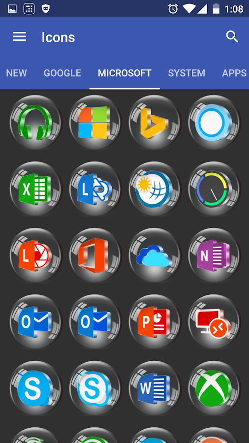 Glass 3D Icon Pack Screenshot 4