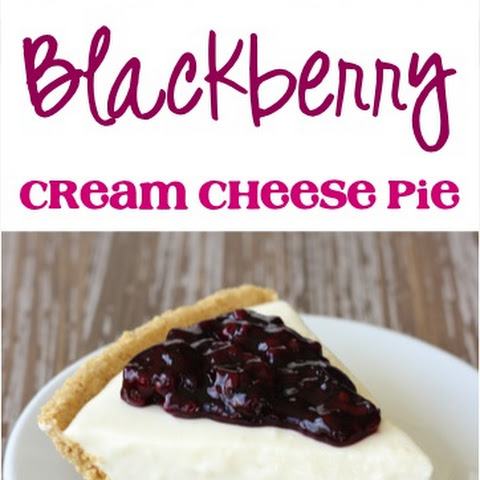 Blackberry Cream Cheese Pie Recipe!