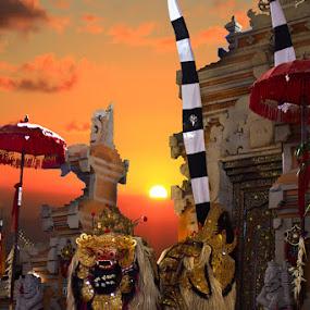 Barong Dance, Bali, Indonesia by Budi Risjadi - News & Events Entertainment