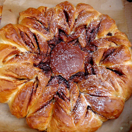 Nutella Star Bread by Babica Slez - Food & Drink Cooking & Baking