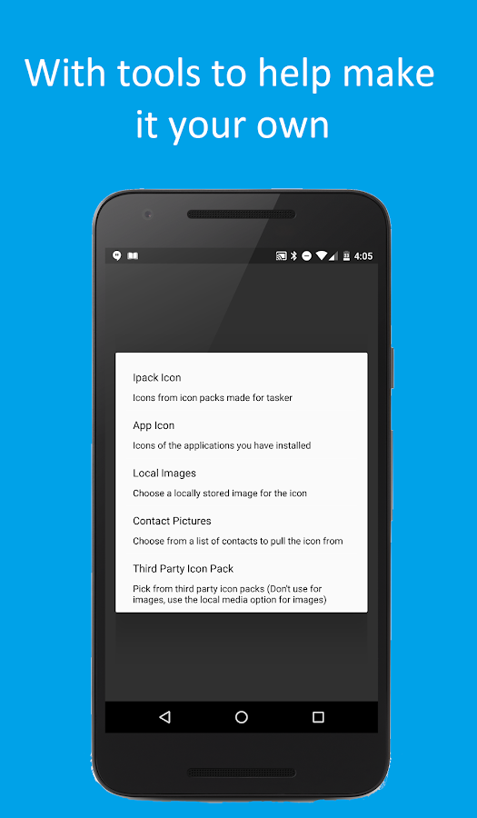 Material Design Tasker Plugin Screenshot 7