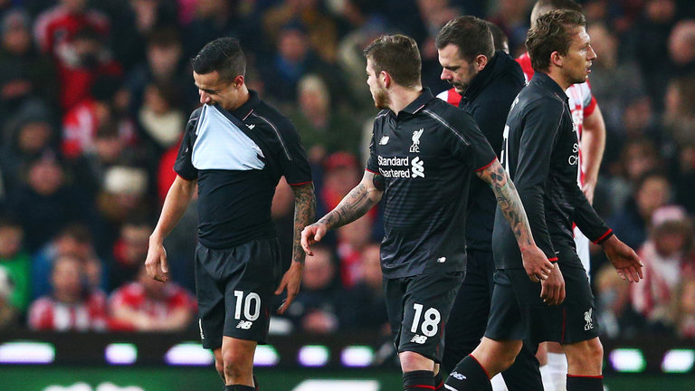 Liverpool suffer double injury blow
