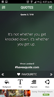 Free Attitude Quotes - screenshot