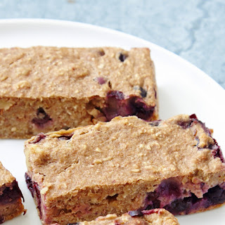 Banana Blueberry Bars