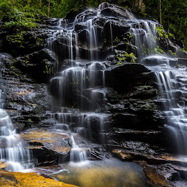 Sylvia Falls by Jeremy Herbert - Nature Up Close Water ( nature, australia, waterfall, long exposure, tripod )