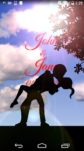 Love In Silhouette 3D LWP - screenshot