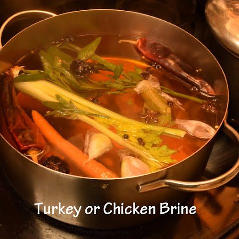 Turkey or Chicken Poultry Brine