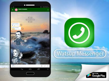 App Watsup Messenger APK for Kindle