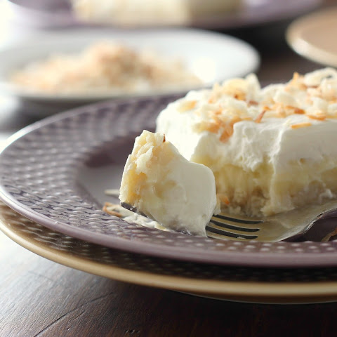Coconut Cream Pie Bars {From Scratch}