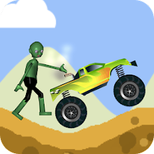 Zombie Hill Climb Flappy Race