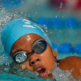 by Francois Loubser - Sports & Fitness Swimming