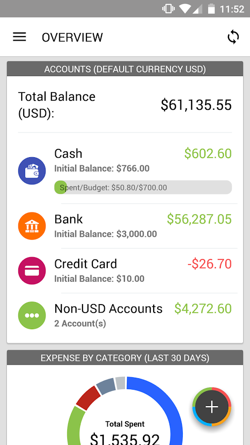 Expense IQ Screenshot 3