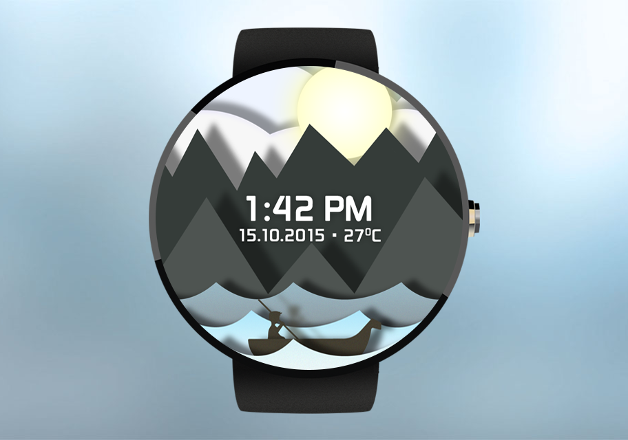 Time Sailor Animated Watchface Screenshot 4