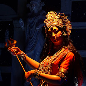 Goddess Durga by Dipyaman Santra - Artistic Objects Still Life