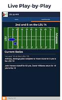 Screenshot of College Football Radio