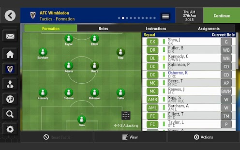Football Manager Mobile 2016 Screenshot